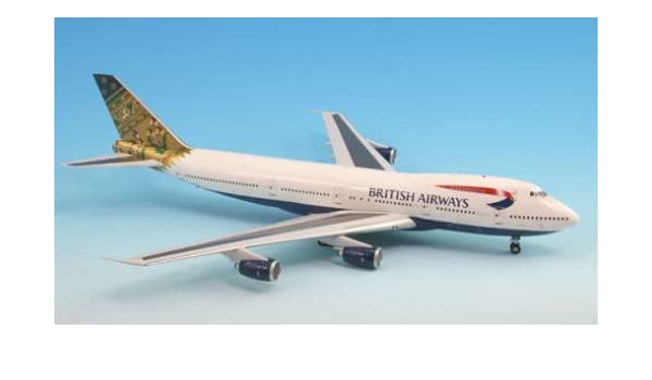 Inflight200 Qantas Airways REG#VH-OJF Boeing 747-400 1:200 1:200 Scale Diecast Display Model IF744002