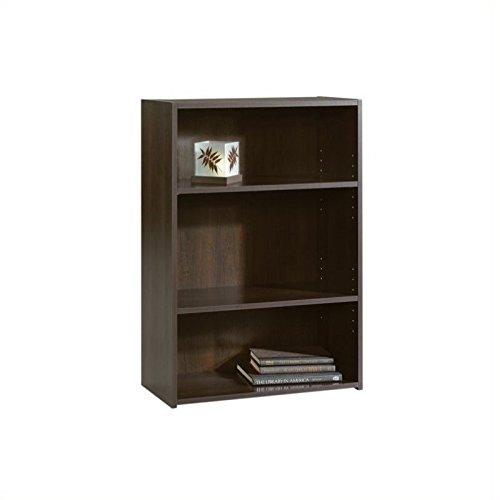 042666133456 - Sauder Beginnings 3-Shelf Bookcase in Cinnamon Cherry carousel main 0