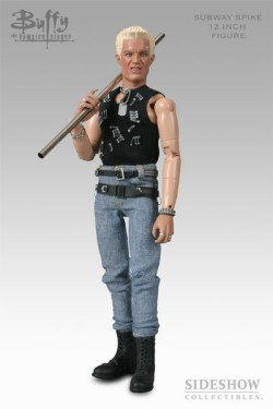 Subway Spike - Buffy The Vampire Slayer Figure - 12 Inch - Sideshow (Best Buffy Spike Episodes)