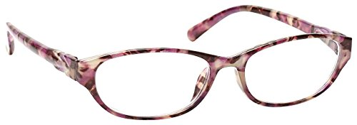 The Reading Glasses Company Pink Tortoiseshell Wrap Readers Designer Style Womens Ladies Inc Bag R69-4 +1.75 by The Reading Glasses Company (Image #2)