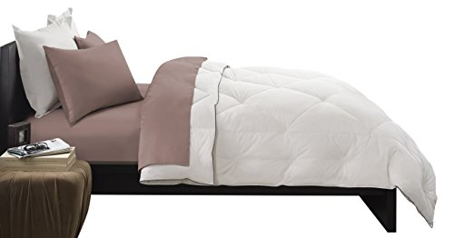 (Pacific Coast Feather Company 67826 Premier Down Comforter, Cotton Cover, Hypoallergenic, Full/Queen)