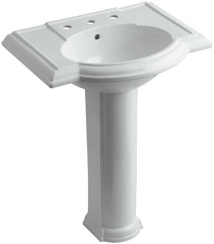 evonshire Pedestal Bathroom Sink with 8