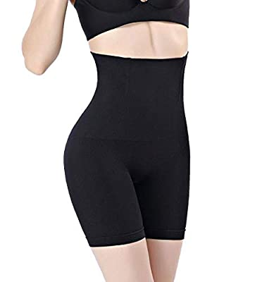 OMG_Shop Women's Hi-Waist Body Shaper Butt Lifter Shapewear Trainer Tummy Control Panties