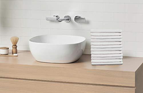 Scrafts Face Towels - Plain - Towels - Wash Clothes - Towels in Bulk - Towel Set - Luxury Hotel Spa - Super Soft Towel - 12''x12'' - Set of 12 pcs by Scrafts (Image #1)