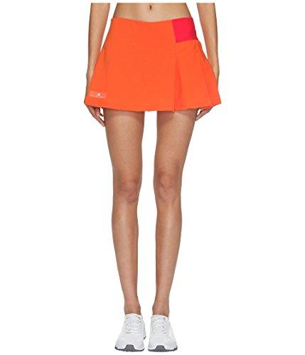 adidas Women's Stella McCartney Barricade Skirt - NY Radiant Orange/Core Red Medium