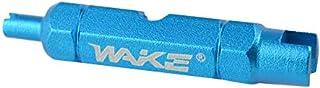 QingTanger Strumento di smontaggio Wake Doppio Testa della Bicicletta Chiave Multifunzionale valvola Core