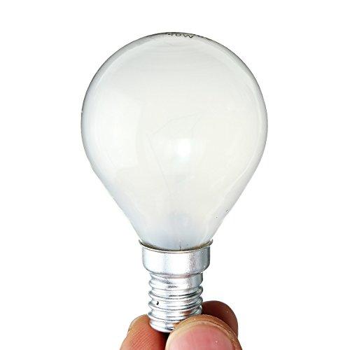 Pukido E14 25W 40W Edison Vintage Incandescent Light Bulbs Warm White Globe Lamp AC220V - (wattage: 40W)