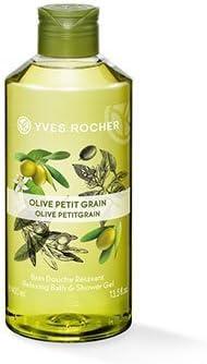 Yves Rocher–Ducha Baño de olivo petitg Rain–Un lávalo ducha baño con el aroma relajante de olivo y petitg Rain