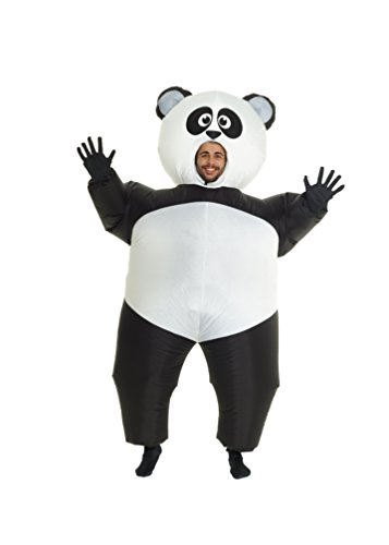 Morph Giant Panda Inflatable Blow Up Costume Costume - One Size fits -