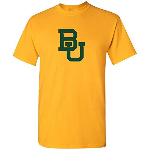 UGP Campus Apparel AS02 - Baylor Bears Primary Logo T-Shirt - Large - Gold -