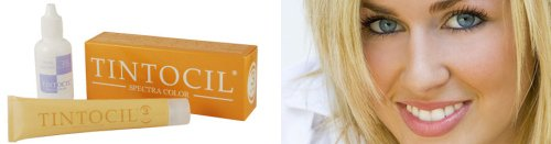 eyebrow dye dark blonde - 5