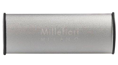 Millefiori Milano Argento Car Air Freshener, Silver Spirit