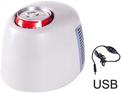ZWH-ZWH 高速ホットとコールドカップ小型冷蔵庫オートホルダーを冷却ミニUSB冷蔵庫カー冷蔵庫ポータブルアイスボックスカップインスタント 車載用冷蔵庫