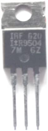 3+Tab IRF620 Trans MOSFET N-CH 200V 5.2A 3-Pin TO-220AB