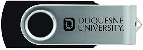 8GB 2.0 USB Flash Drive-Black Duquesne University LXG Inc