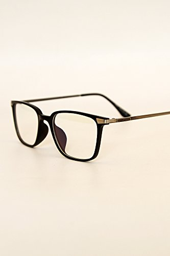 Price comparison product image Generic Ultra-lightweight,_minimalist_ black _box Blu-ray_flat_optical_ glasses_BOX_100_men women_on computer_goggles