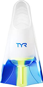 TYR Stryker Silicone fin Swimming Equipment, Clear, Medium