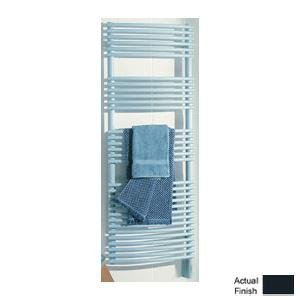 Runtal STR-3420-5008 Solea Hydronic Towel Radiator 34-in H x 20-in W Gray Blue 5008 Hydronic Towel Radiator