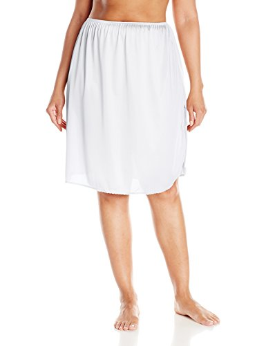 Vassarette Womens Full Figure Tailored Anti-Static Half Slip 11822