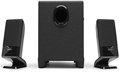 ZHICHUANG R101V 2.1チャンネルマルチメディアスピーカー、ステレオ、コンピュータのスピーカー、ブラック、完璧なサウンド品質 (Color : Black)