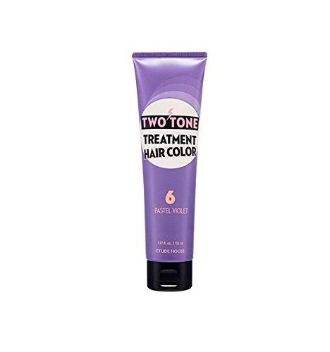 Etude House Two Tone Treatment Hair Color (150ml/5.07oz) Hair Dye New Color Available (#6)
