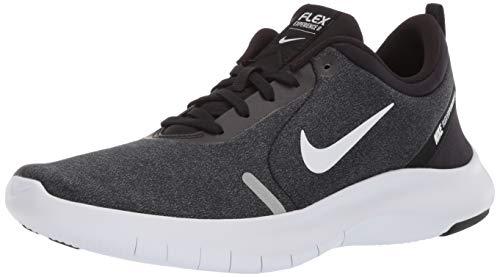 (Nike Women's Flex Experience Run 8 Shoe, Black/White-Cool Grey-Reflective Silver, 8.5 Regular)