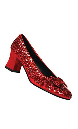 Funtasma by Pleaser Women's Dorothy-01 Pump,Red Sequins,6 M -