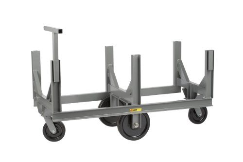 Little-Giant-BCT-2860-Bar-Cradle-Truck-with-Pushbar-Handle-5000-lbs-Capacity-60-Length-x-28-Width-Platform