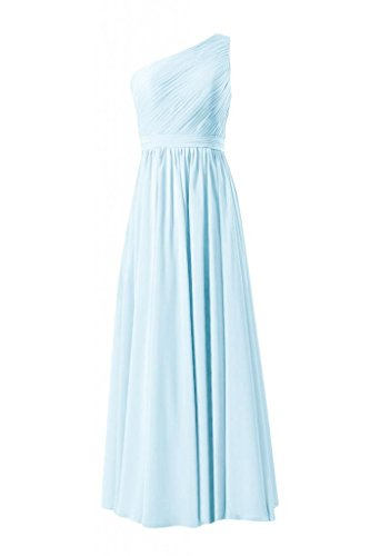 ice blue bridesmaids dresses - 9
