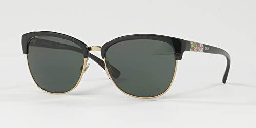 60a162943 Óculos de Sol Grazi Massafera GZ4012 D918 Preto Ouro Com Cristais Da  SWAROVSKI Lente Verde Escuro