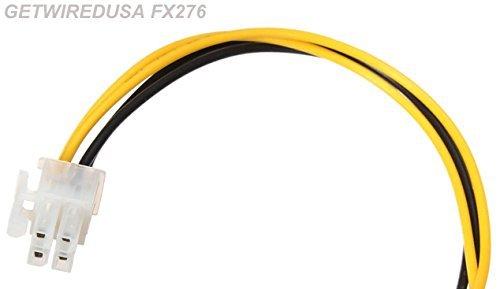 galleon - 4-pin wire harness molex plug for alpine dha-s680p dha-s690  dva-5205 kce 250bt 300bt 350bt 400bt mrp-t220 pkg-rse2 pkgrse2  getwiredusa  fx276a