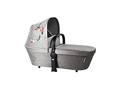 Cybex - Capazo priam fashion collection koi para coche de paseo plata
