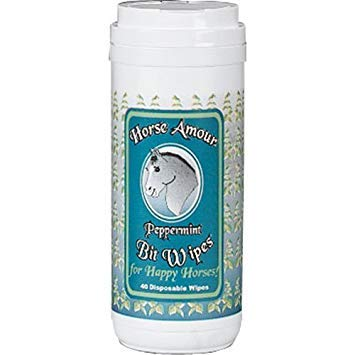 Horse Amour Bit Wipes (Peppermint)