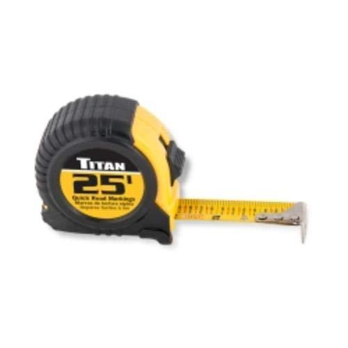 Titan 10906 1 Pack 25 Tape Measure