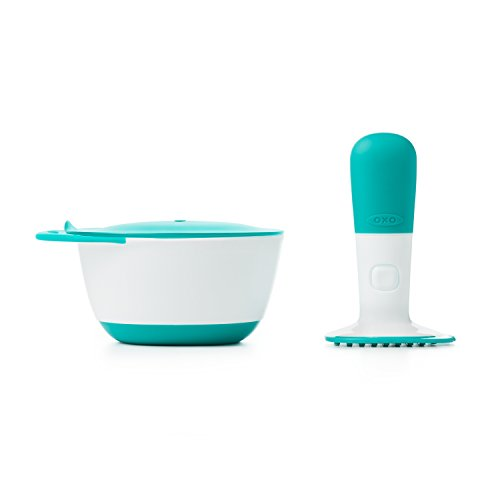 OXO Tot Food Masher, Teal from OXO Tot