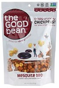 Price comparison product image The Good Bean Chickpea Snk Msquite Bbq