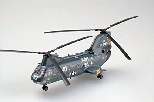 Easy Model US Boeing CH-46 Sea Knight Helicopter HC-3 DET-104 1/72 Non diecast Plane