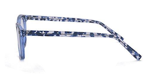 Alwaysuv Femme Monture Lunettes De Bleu M 4wCRxqf84