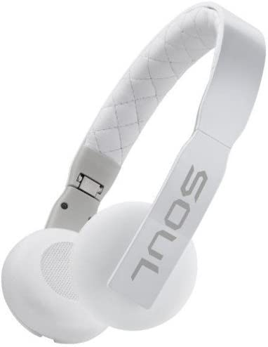 Soul Loop Ultra Lightweight On-Ear Headphones White