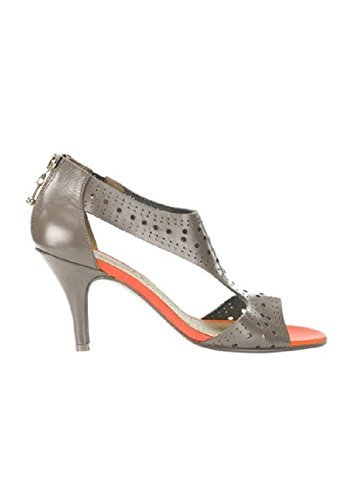 Best Connections Sandalette - Sandalias de vestir de cuero para mujer marrón - pardo
