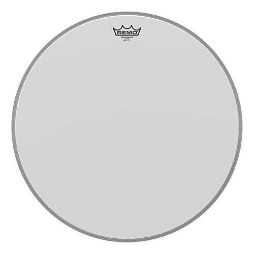 Coated 20 Bass Drum - Remo Ambassador Coated Bass Drum Head - 20 Inch