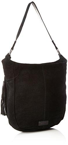 s.Oliver (väskor) dam 39.711.94.8032 axelväska, svart (svart/svart), 7,5 x 30 x 34 cm