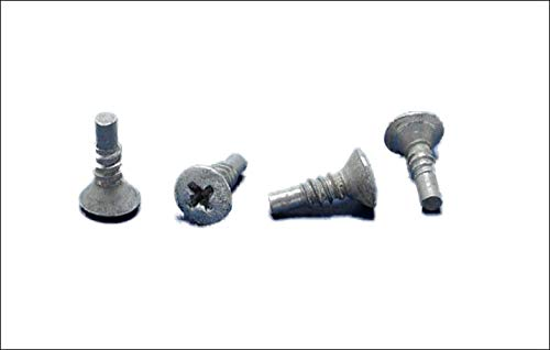 250 Stainless Steel Pilot Point Screws for Patio Furniture Vinyl Strapping/Webbing