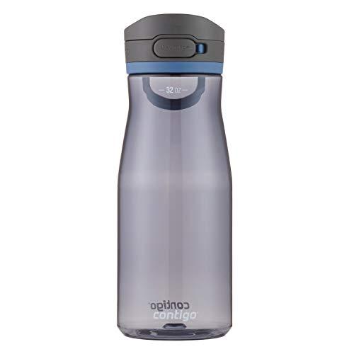Botella de agua Contigo AUTOPOP, 32 onzas, maíz azul
