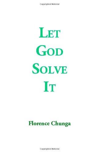 Let God Solve It