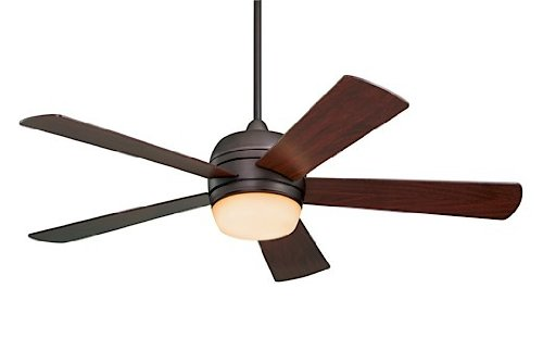 "Emerson CF930ORB, Atomical Oil-Rubbed Bronze 52"" Outdoor Ceiling Fan w/Light & Remote from Emerson"