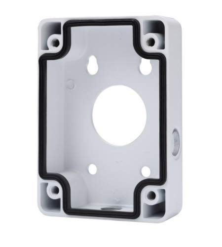 Dahua PFA120 Junction Box Material: Aluminum,Color: White,Dimension: 115mm*160mm*37mm,Weight: 0.5Kg