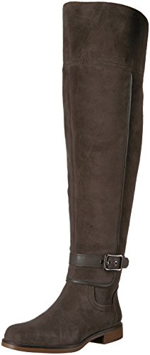 Franco Sarto Women's Crimson Wide Calf Over The Knee Boot, Peat, 9 M US by Franco Sarto