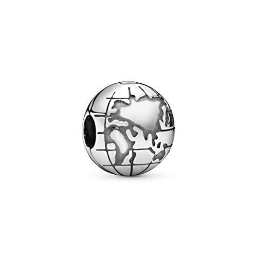 Pandora Jewelry Globe Sterling Silver Charm