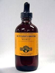 Butcher's Broom Extract, 4 Oz by Herb Pharm (Pack of 3)